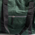 Green Cord Weekend Bag