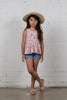 Pretty Girl Top - Dusty Pink Desert Slub