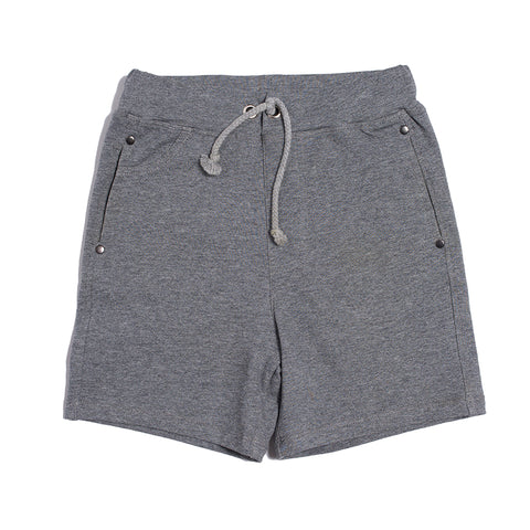 JUST KICKIN' IT SHORT - CHARCOAL MARLE  (INFANT)
