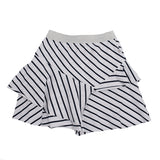 All The Stripes Skirt - NavyWhite Stripe