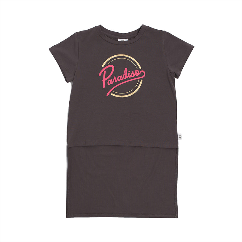Paradiso Tee - Washed Black