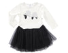 EYES FOR YOU TUTU - WARM WHITE/BLACK