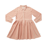 GO SPIN DRESS - DUSTY PINK