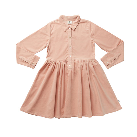 ALL THE FACES SWING DRESS - SAGE