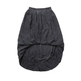 GOING PLACES BALLOON SKIRT - BLACK ACID