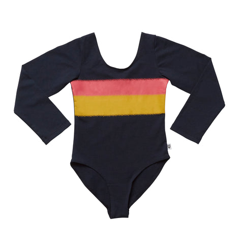 KWEENIE LEOTARD - BUMBLE BLACK YARDAGE