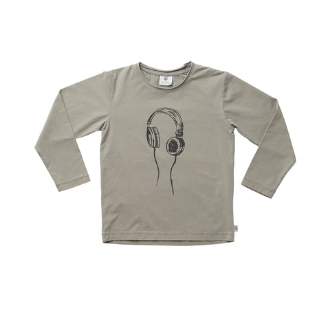 NEW BOXY TEE - SAND ACID WASH