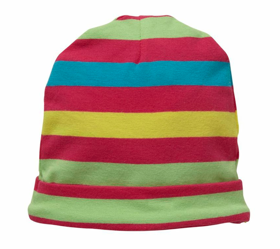 HAND ON YOUR HEART BEANIE - MULTI STRIPE