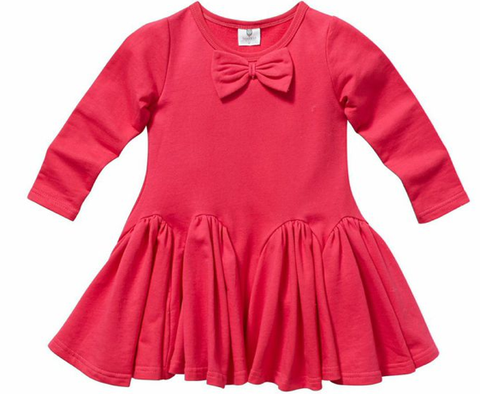POPPY PEPLUM TOP - RED