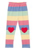 LITTLE RAINBOW LEGGING - MULTI MINI STRIPE