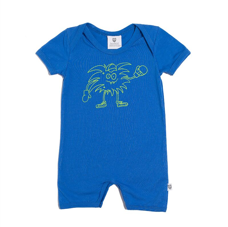 HELLO THERE ROMPER - COBALT