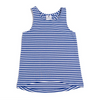 RACING TOP - COBALT MINI STRIPE