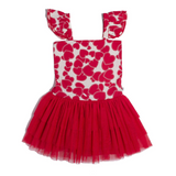 SHAKE IT OFF DRESS - RED HEART