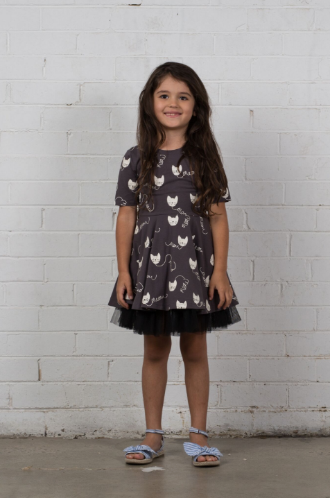 The Eloise Dress - Meow Cat