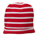 HAND ON YOUR HEART BEANIE - RED STRIPE