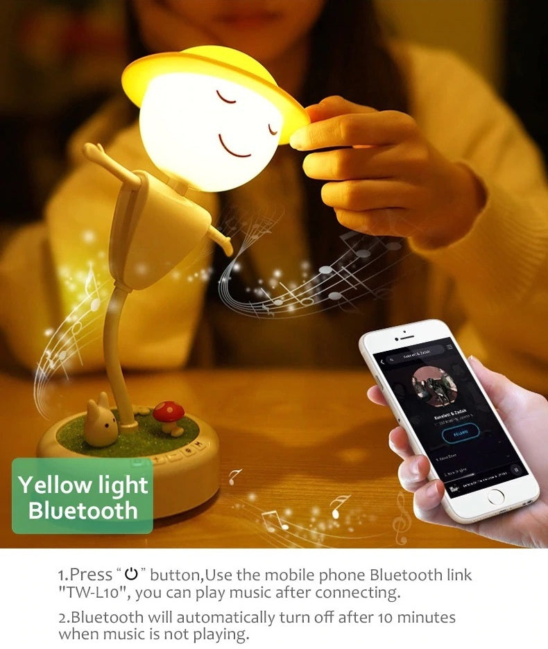 Delight Bluetooth Night Light
