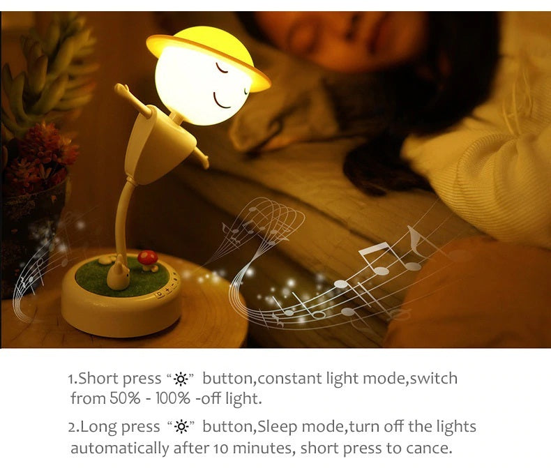 Nightlight For Babies Best Environment Blueetooth Lamp
