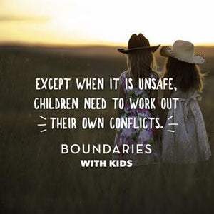 The Best Boundaries Words for Kids