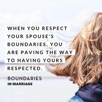 The Secret to a Successful Marriage (Hint: It Involves Boundaries)