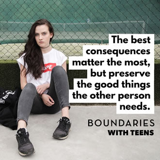 How to Determine the Right Consequences When Setting Boundaries
