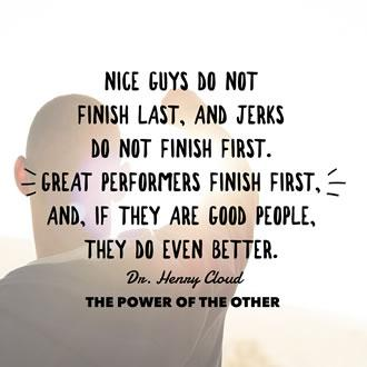 Nice Guys Don't Finish Last