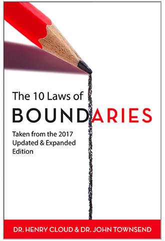 The 10 Laws of Boundaries book cover