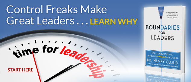 Control Freaks Make Great Leaders