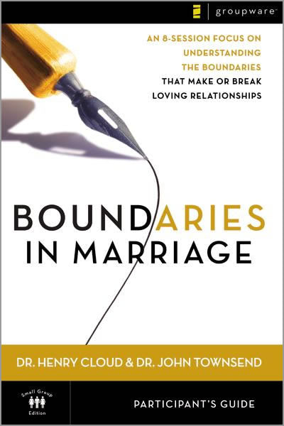 Boundaries in Marriage Video Study Participant's Guide