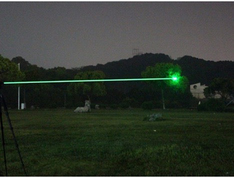 Burning Green Laser Pointer Military Tactical Beam
