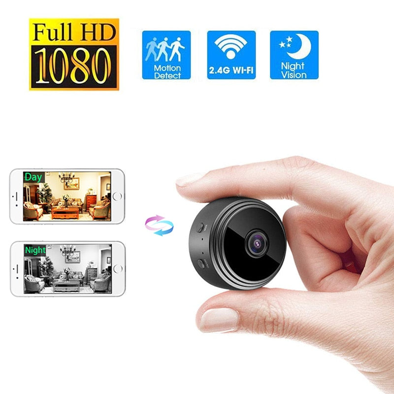 A9 WiFi 1080P Full HD Night Vision Wireless IP Camera-Full HD Night Vision Wireless IP Camera-Magnifar