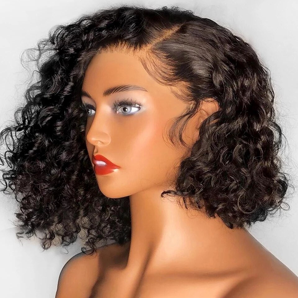 New Perfect Wave Curly Wig-Lace Front Wigs-Magnifar