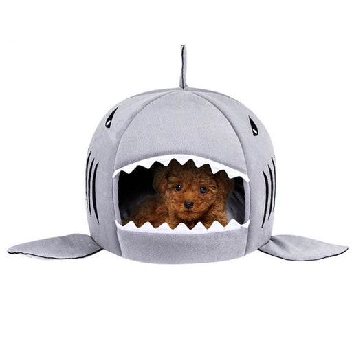 Shark Pet Bed-Houses, Kennels & Pens-Magnifar