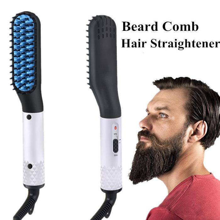 Beard Straightening Comb Electric Iron-Straightening Irons-Magnifar