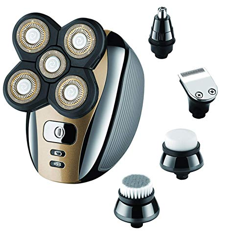 5 In 1 Electric Head Shaver-Magnifar