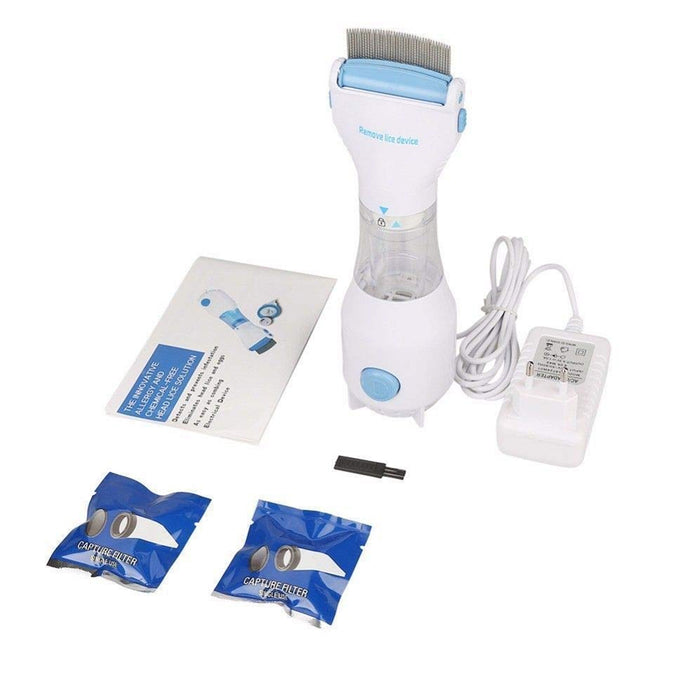 Electric Head Lice Comb Vacuum-Dog Combs-Magnifar