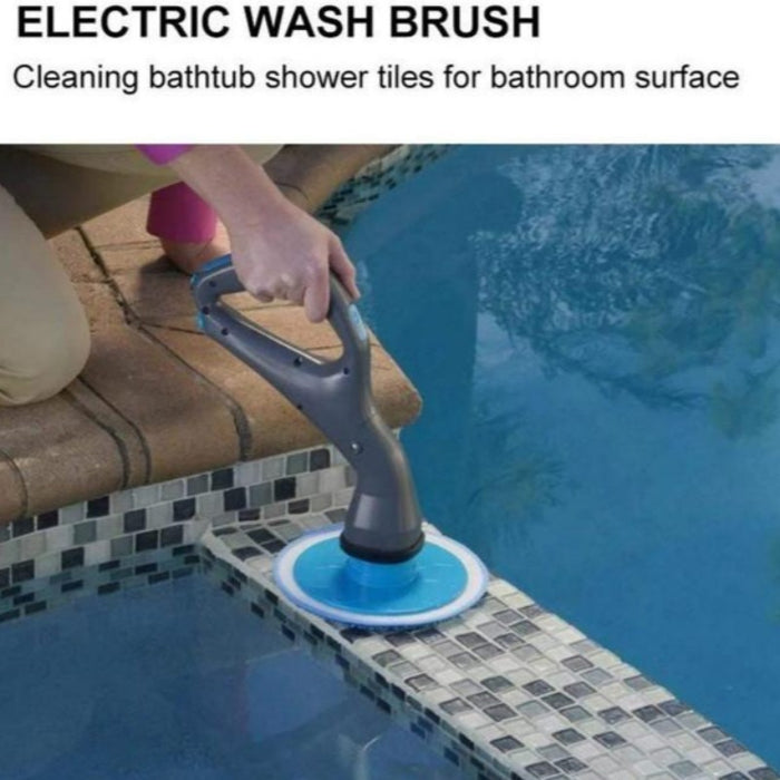 Cordless Muscle Scrubber Electric Cleaning Brush-Cleaning Brushes-Magnifar