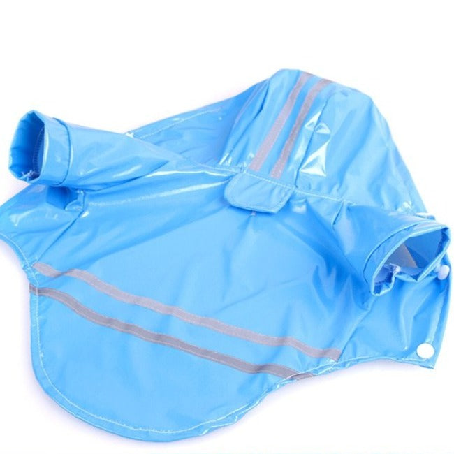 Reflective Dog Raincoat-Magnifar