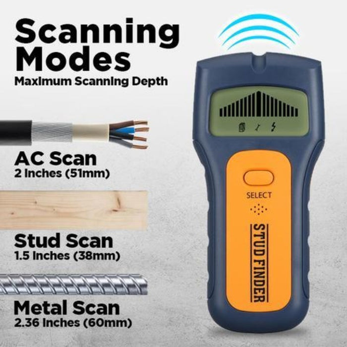 3 in 1 Stud Finder Metal Detector-Industrial Metal Detectors-Magnifar