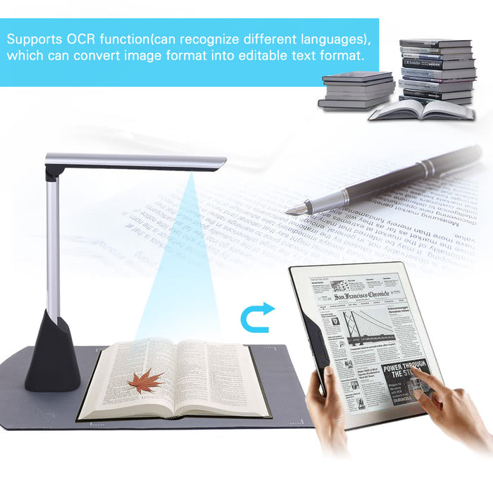Automatic Portable Document Scanner-Visual Presenter-Magnifar