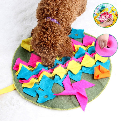 Dog Sniffing Puzzle Feeding Mat-Dog Feeding Mat-Magnifar