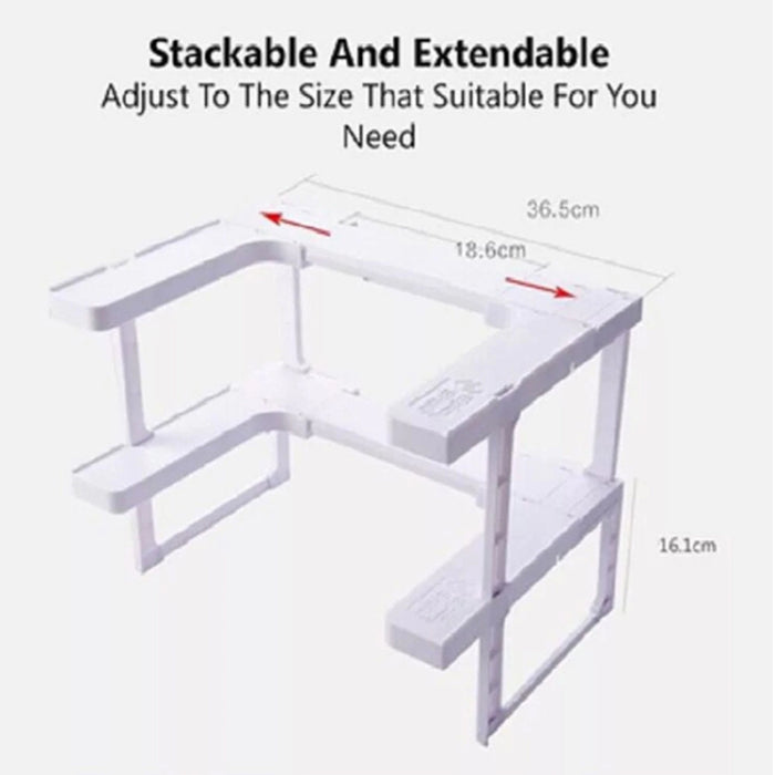Adjustable Space Rack-Other Kitchen Specialty Tools-Magnifar