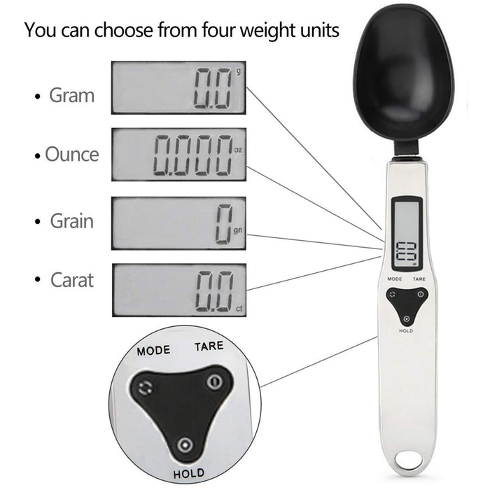 Smart Measuring Spoon-Kitchen Scales-Magnifar