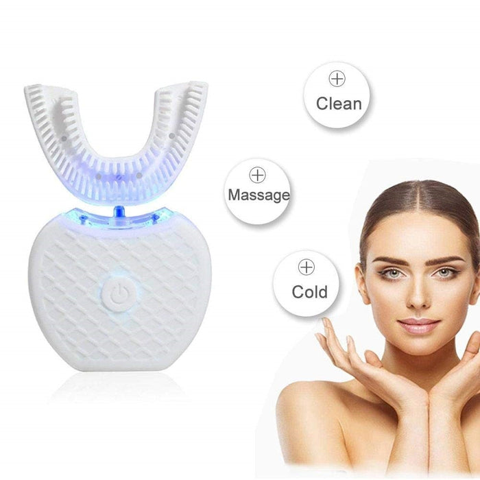 Hands-free Ultrasonic Automatic Toothbrush-Teeth Whitening-Magnifar