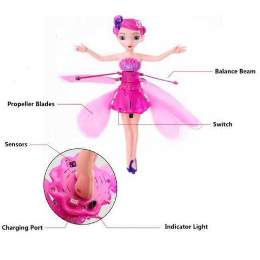 Flying Fairy Doll-Magnifar