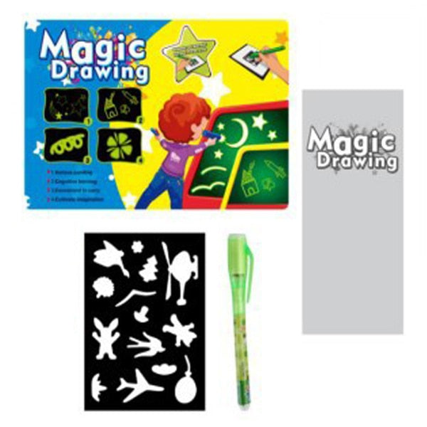 MagicBoard - Lighted Educational Drawing Board-Eucational Drawing Board-Magnifar