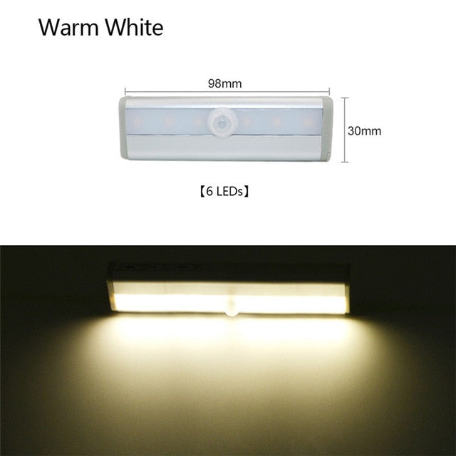 Wireless LED Motion Sensor PIR Cabinet Light-PIR Sensor LED Cabinet Light-Magnifar