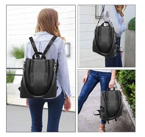 Anti Theft Womens Backpack