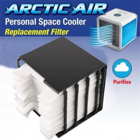 arctic air conditioner with towels