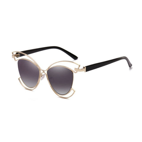 Elegant Ladies Cat Eye Sunglasses