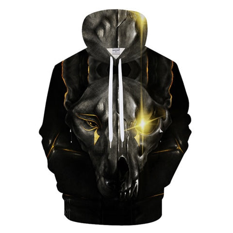 One Eye Animal Hoodie